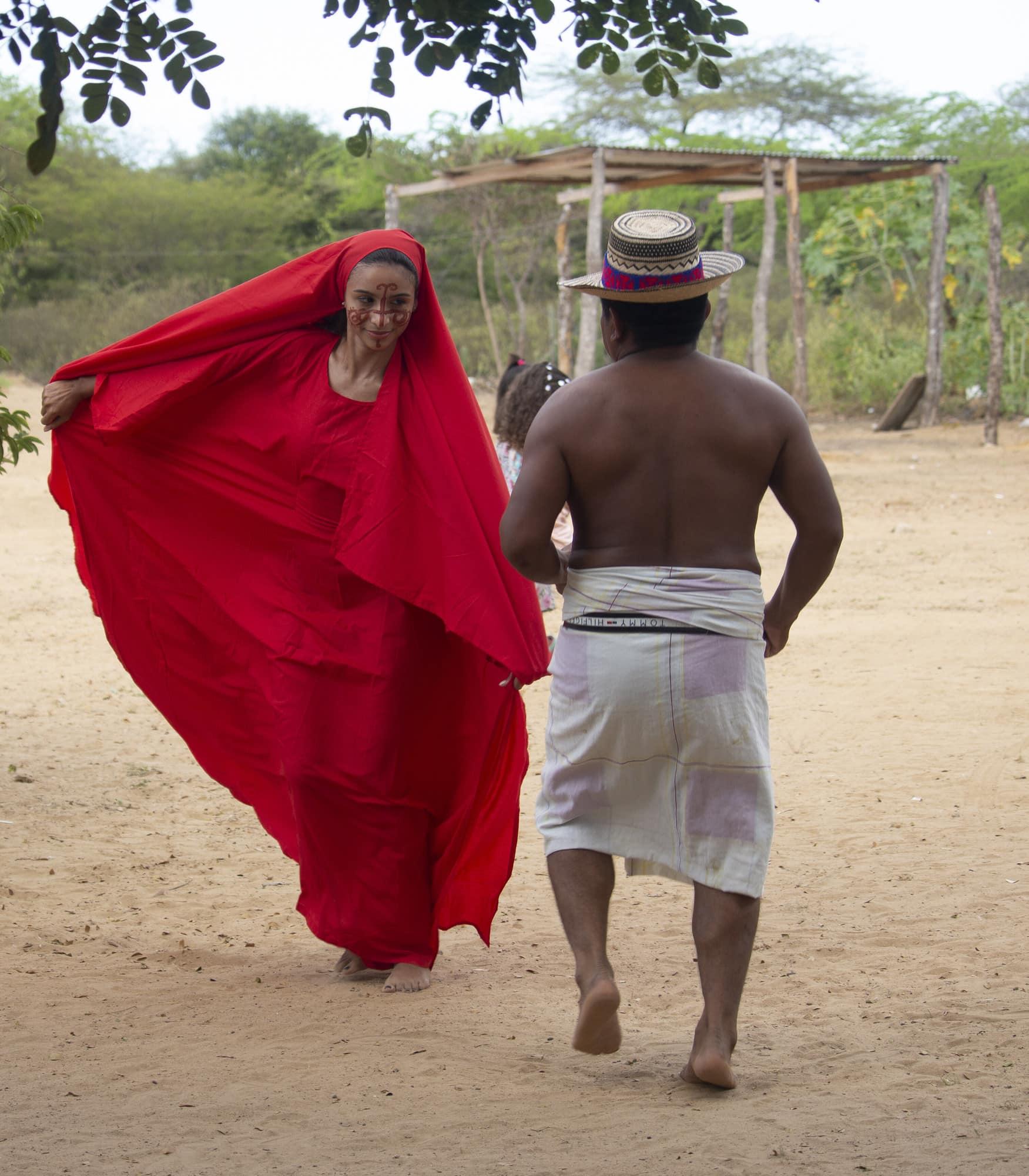 Wayuu dance. Yonna
